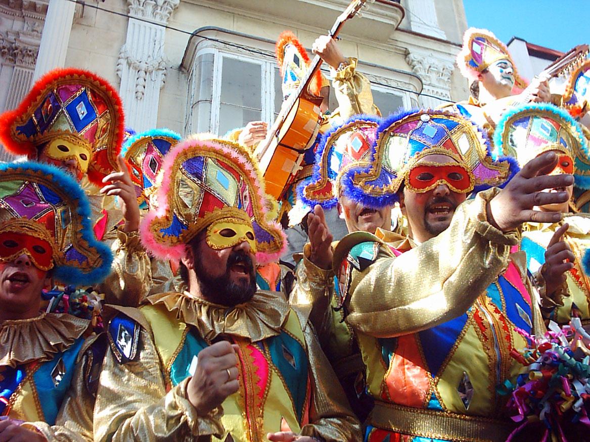 e-spanish.ru карнавал в Мадриде